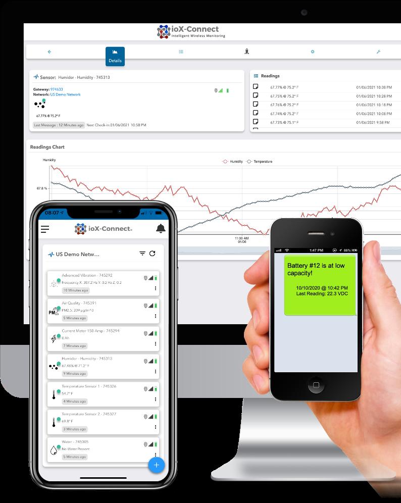 Sensor Portal-Mobile-Text